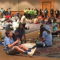 Curry Middle School Students At State Convention