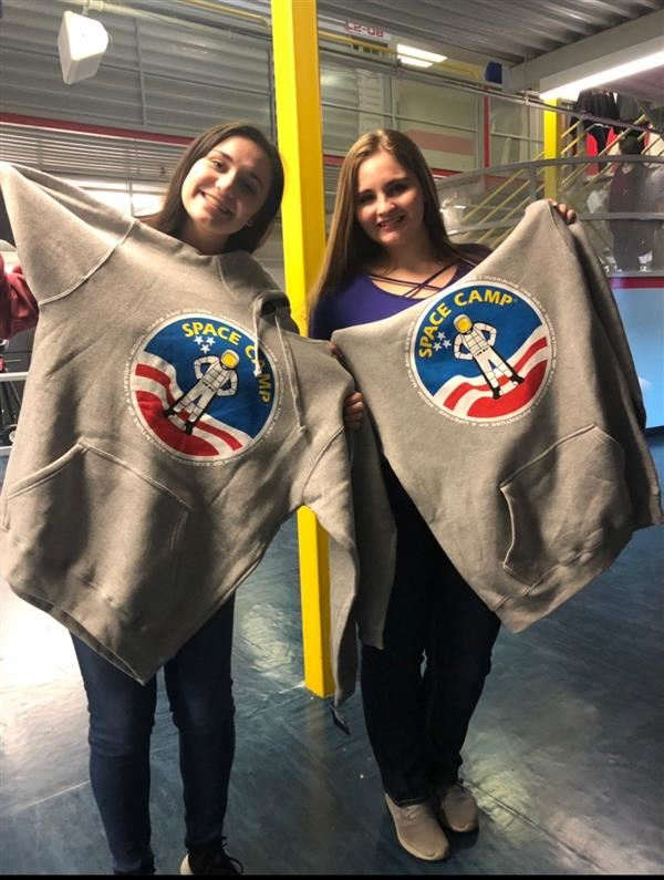 OHS Students Space Camp 2