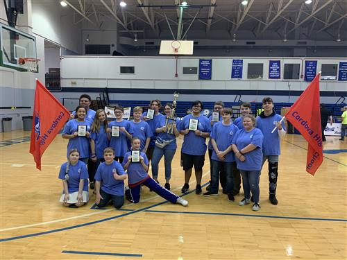 COrdova hs and BMS Roborics Bring Home the awards