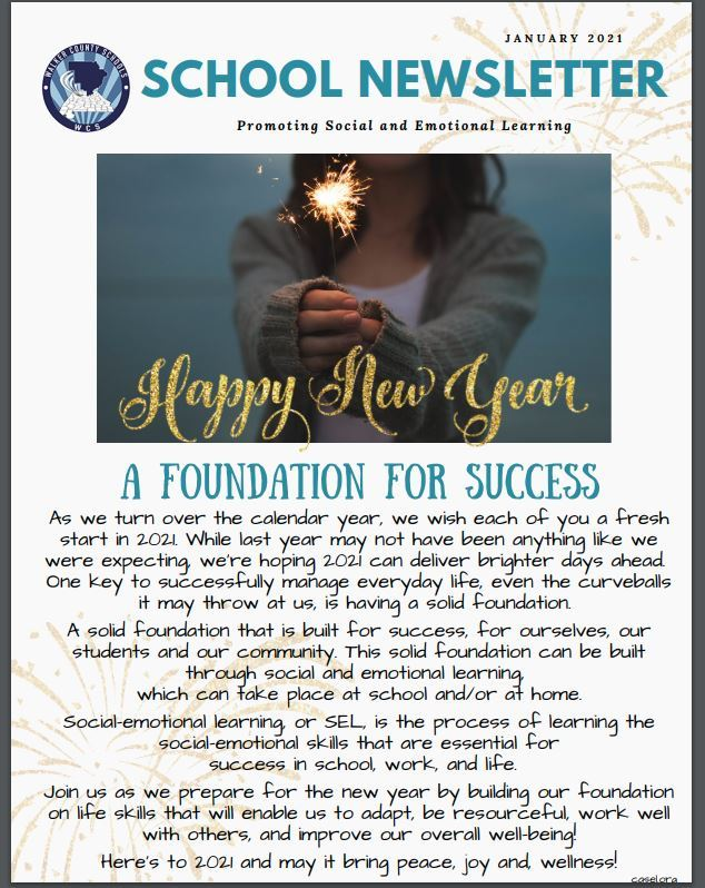 January Newsletter Click to Download