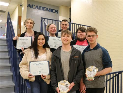 Dora High recieves Honors at the Bevill Torch Competition